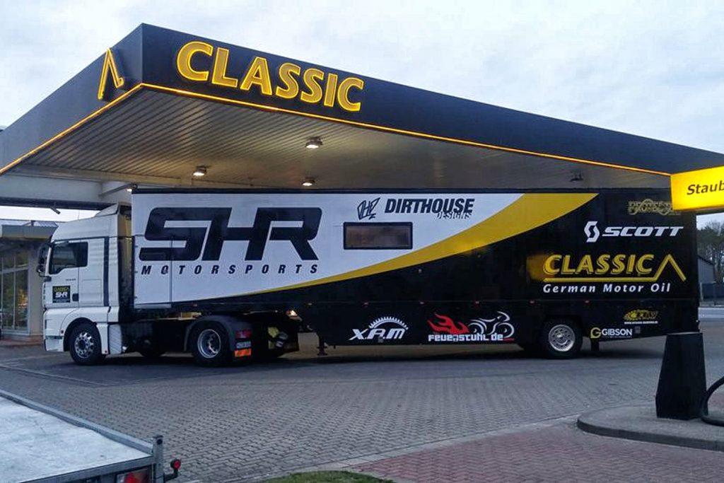 SHR Motorsports Truck